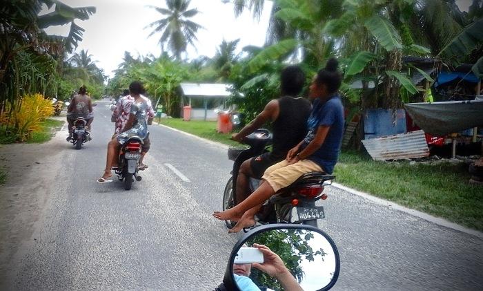 Doctored motorbikes